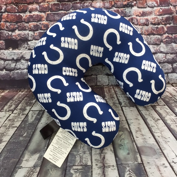 Indianapolis Colts Bean Bag Travel Pillow